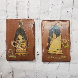 First Nations Character Art Vintage Aboriginal